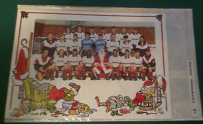 C1991 Bolton Wanderers Rare Vip Christmas Card Issued By The Football Club