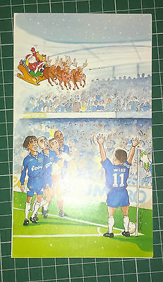 C1996 Chelsea  Rare Vip Christmas Card Issued By The Football Club. Scarce
