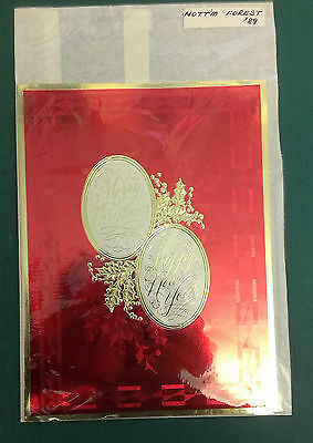 C1989 Nottingham Forest Rare Vip Christmas Card Issued By The Football Club