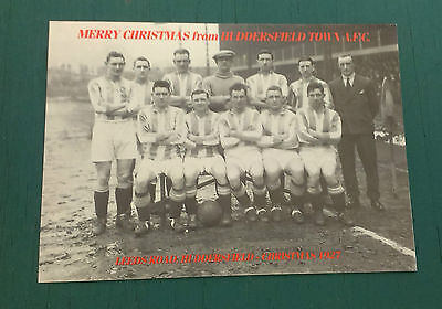 C1927 Huddersfield Town C1990  Vip Christmas Card Issued By The Football Club
