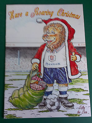 C1995 Bolton Wanderers Fc  - Vip Christmas Card Issued By The Football Club.