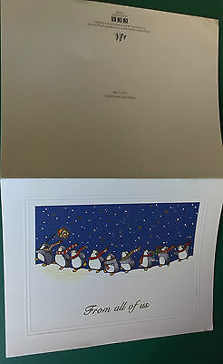 C1991 Leeds United Champions  Vip Christmas Card Issued By The Football Club.