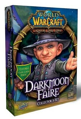 World Of Warcraft Darkmoon Faire Collector's Set -Factory Sealed- Wow Free Ship