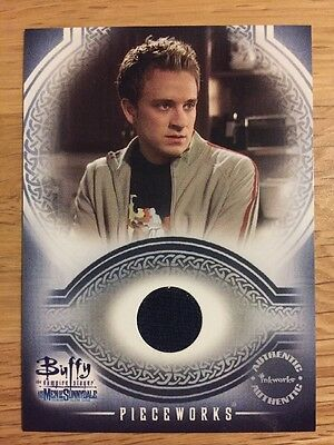 Buffy The Vampire Slayer Men Of Sunnydale Trading Card Piece Work Andrew PW4