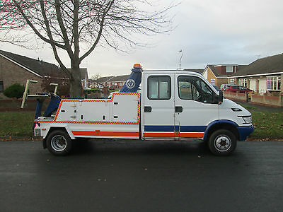 2005 Iveco 65C Spec Lift Recovery Truck