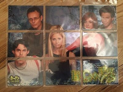 Buffy The Vampire Slayer Season 4 Trading Cards New Beginnings NB1-9 Complete