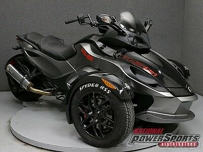 Can-Am SPYDER RS-S SE5  2011 Can-AM SPYDER RS-S SE5 Used