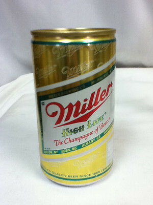 Miller High Life beer can bank 12 ounce cans 1 coin brewery Milwaukee coins  GL3
