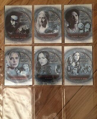 Buffy The Vampire Slayer Season 7 Trading Cards Slayers Legacy Complete SL1-6