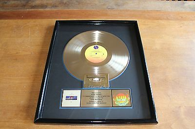 Depeche Mode - USA RIAA LP Gold Award / Music for the Masses / 500,000 Sold