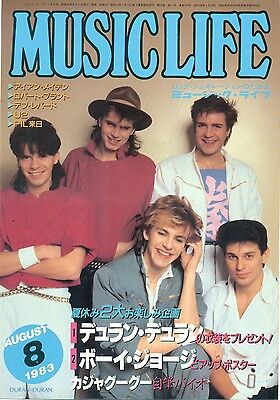Duran Duran - Clippings From Japanese Magazine Music Life 8/1983