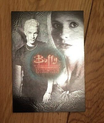 Buffy The Vampire Slayer Season 7 Trading Cards NSU-SD