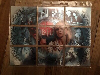 Buffy The Vampire Slayer Season 7 Trading Card The Final Battle Complete FB1-9