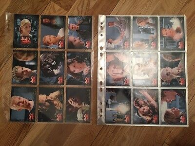 Buffy The Vampire Slayer Season 7 Trading Cards Base Set