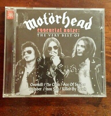 """Motorhead-Essential Noize: The Very Best Of. """"mint"""""""