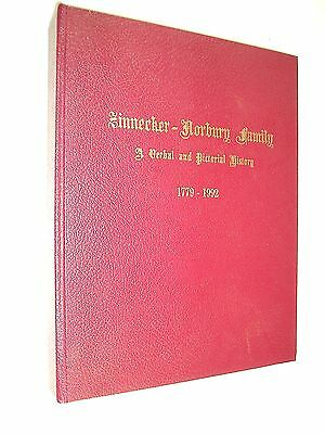 1992 Genealogy of the Zinnecker and Norbury Family. 1st Edition