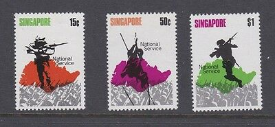 Stamps Singapore 1970 MH National Service set