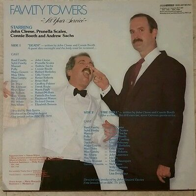 Fawlty towers record at your service