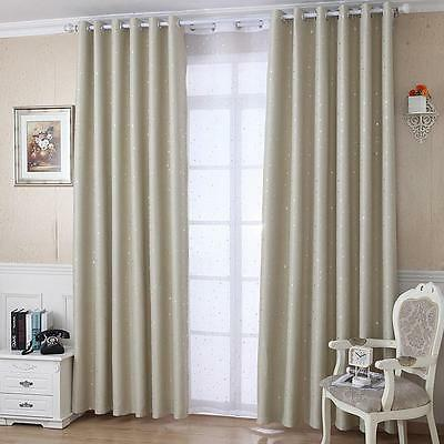 """Ring top fully lined pair eyelet ready made curtainsstar decorate 59"""" X 108'' 9#"""