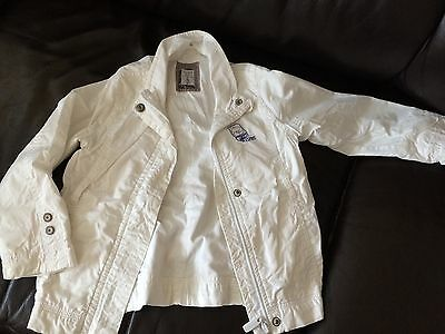 Girl's Light Jacket By Esprit Size 4-5 Years White