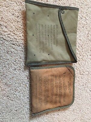 Vintage US Military Issue Chemical Heating Pad First Aid Chemical Compound Corp
