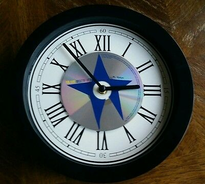 The Cure Hits Gothic Punk Cd Album Wall Clock Christmas Present Gift Idea