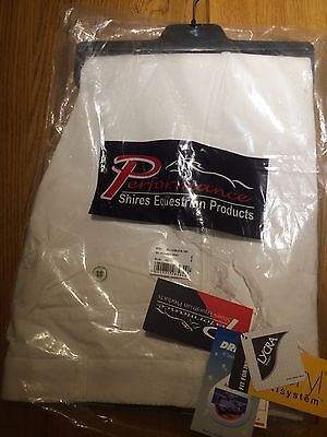 Shires Performance White Breeches, Size 42W Gents - Mens