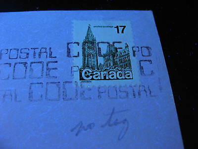 CANADA Sc 790 17c Parliament untagged error on cover! Check it out!