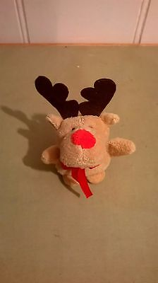 Rudolph the red nosed ,Reindeer Soft Toy