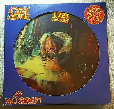 "Ozzy Osbourne Live ""Mr. Crowley"" Picture Disc"