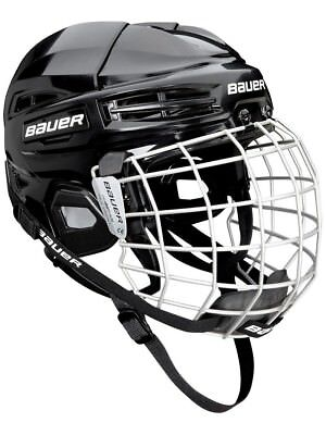 Bauer IMS 5.0 Combo Ice Hockey Helmet With Cage - 2 Colours Available