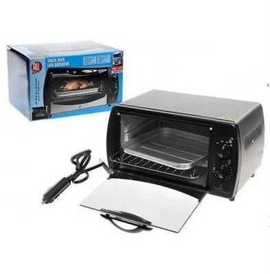 Electric Oven 24V 300W Silver Portable Oven Deluxe - All Ride