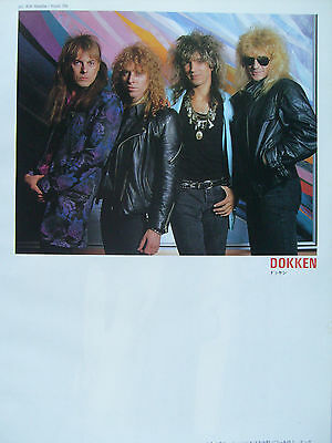 Dokken / George Lynch - Clippings From Japanese Magazines