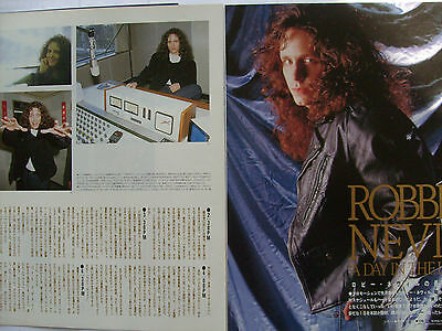 Robbie Nevil - Clippings From Japanese Magazines