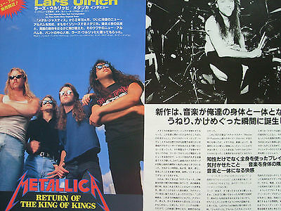 Metallica - Clippings From Japanese Magazines