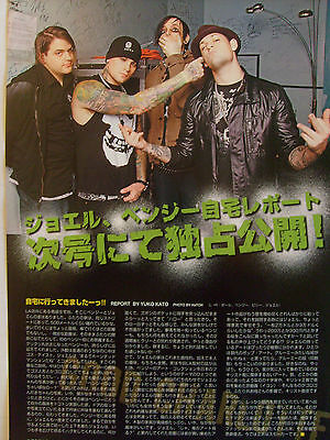 Good Charlotte - Clippings From Japanese Magazines