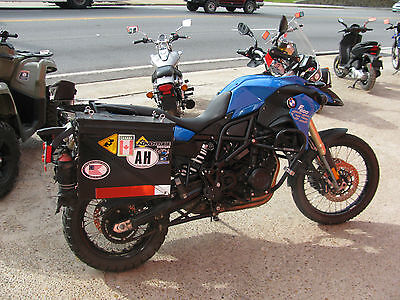 2013 BMW F-Series  2013 BMW F800GS PREMIUM ABS BLUE lots of extras dealer trade ready to ride