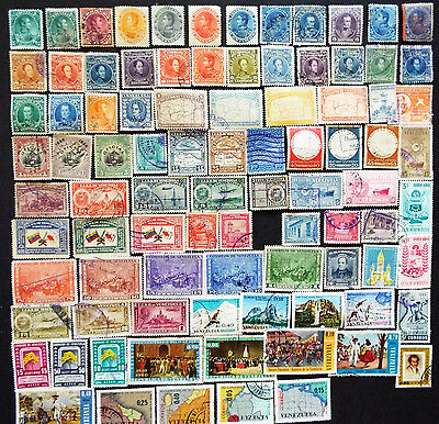 Older Collection Of Stamps From Venezuela