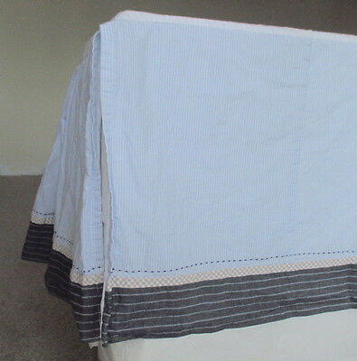 Pottery Barn Kids Baby Bed Skirt Multi Colored