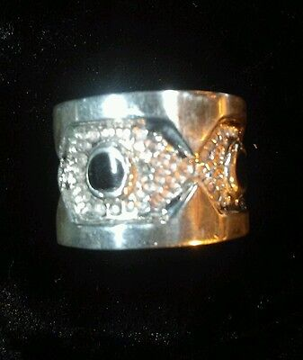 Ring Band 925 Sterling Silver Handcrafted Taxco Mexico New