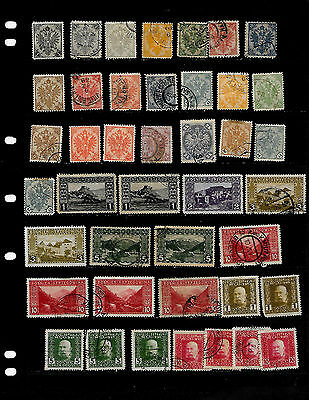 Bosnia And Herzegovina: Nice Stamp Lot Displayed On 3 Sheets  See Scans