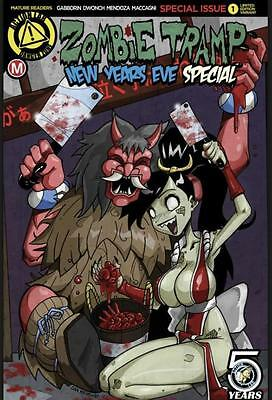 Zombie Tramp New Years Eve 2016 Aod Collectables Mendoza Cover Pre-Order