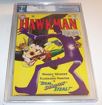 Hawkman #5 - DC 1964 Silver Age issue - 2nd appearance of Shadow Thief