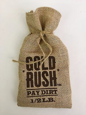 Gold Rush Pay Dirt Bag 1/2LB Pan For Gold Discovery Channel Alaska Authentic