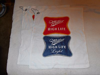 """Miller Life Hand towels Golf 18"""" x 14"""" never used"""