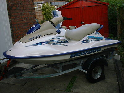 *** 2001 Seadoo Gs720 Jetski Immaculate,trailer,cover,ringo&rope,two Jackets.***