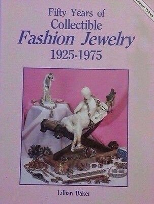 VINTAGE JEWELRY PRICE GUIDE COLLECTOR BOOK Wood Stone Plastic
