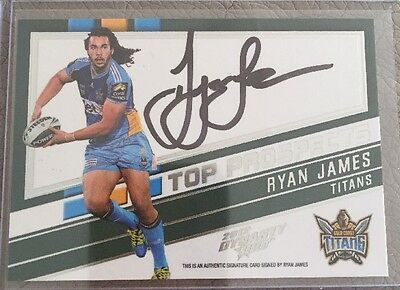 2012 Dynasty Nrl Top Prospects Tps5 Ryan James # 228/300
