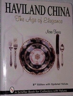 HAVILAND CHINA PRICE GUIDE COLLECTOR'S BOOK Dish Cup Saucer Salt Cellers ++