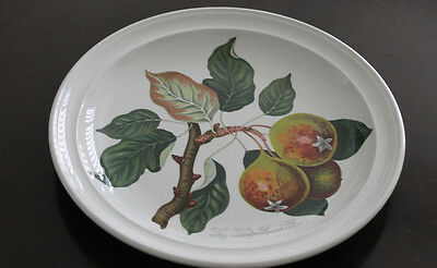 Portmeirion English China Pomona Pattern Plate Pear